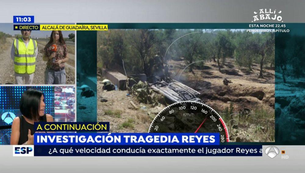 Accidente de José Antonio Reyes.