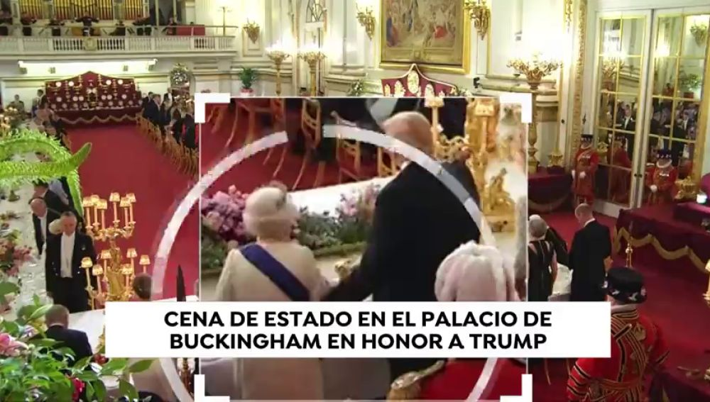 Trump vuelve a cometer otro fallo de protocolo con la reina Isabel II