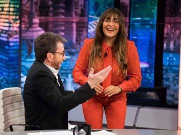 """La confesión de Candela Peña a Pablo Motos en 'El Hormiguero 3.0': """"Me he dado cuenta de que me he hecho mayor"""""""