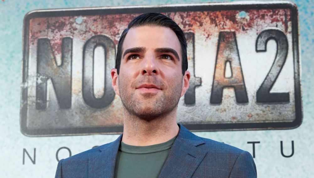 Zachary Quinto, protagonista de 'NOS4A2'
