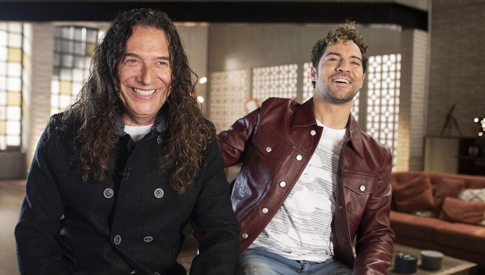 """David Bisbal, junto a Tomatito, se sincera en los primeros asaltos de 'La Voz Senior': """"Vamos a elegir con el corazón"""""""