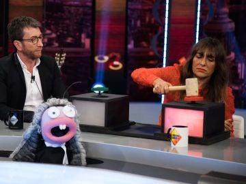 Candela Peña reparte justicia en 'El Hormiguero 3.0' con Trancas y Barrancas