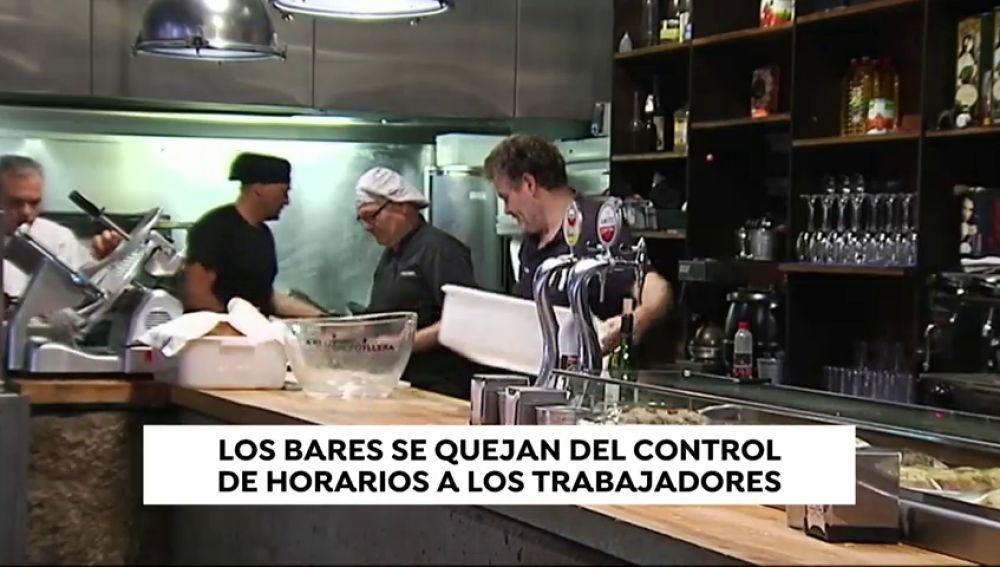 Bares y restaurantes declaran la guerra al control de horarios
