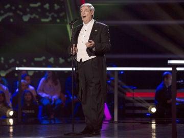 Javier Gallego canta 'Amapola' en los Asaltos de 'La Voz Senior'