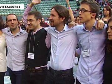 Pablo Iglesias, el único superviviente del equipo fundador de Podemos