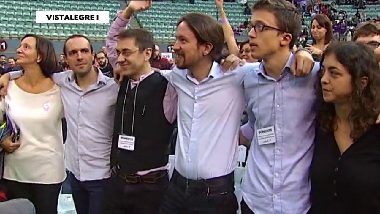 Podemos: Pablo Iglesias, El único Superviviente Del Equipo