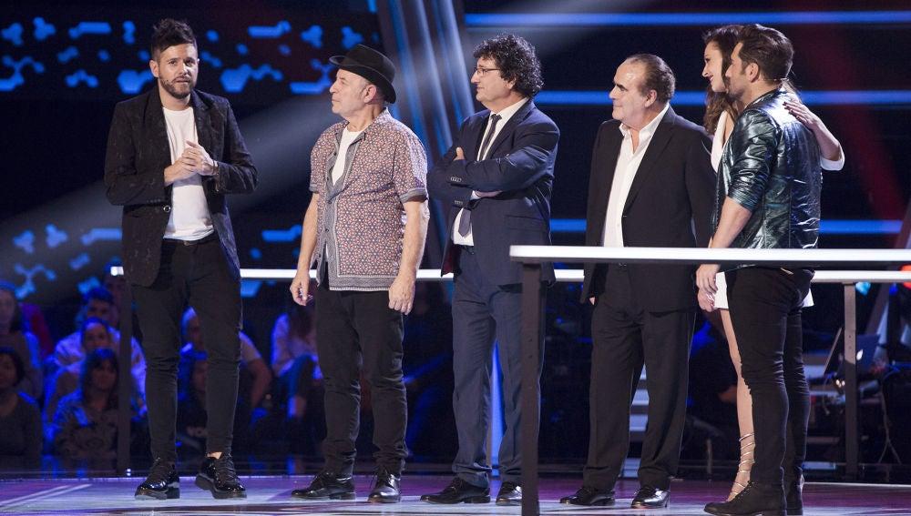 Pablo López despide a sus talents de 'La Voz Senior' con bonitas palabras de agradecimiento