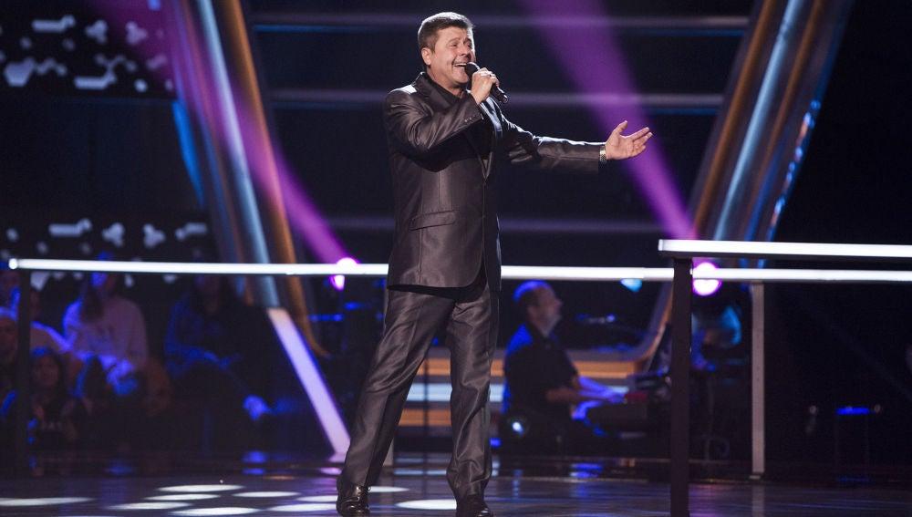Ramón Luis Guillem canta 'Júrame' en los Asaltos de 'La Voz Senior'