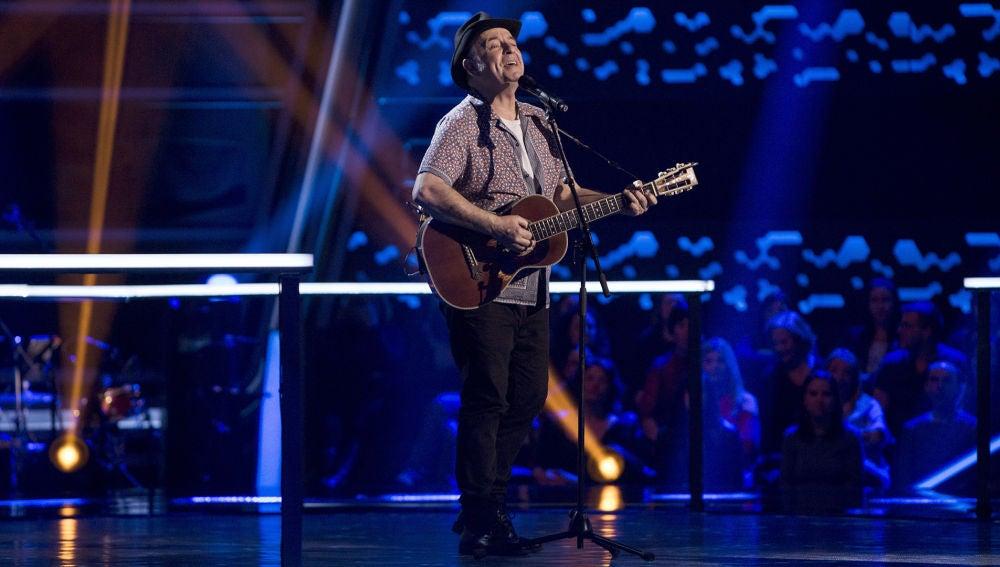 José María Guzmán canta 'Solo pienso en ti' en los Asaltos de 'La Voz Senior'