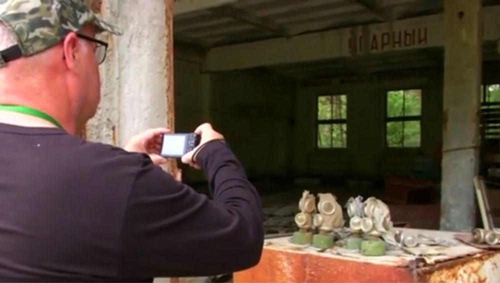 Un turista en Chernobyl