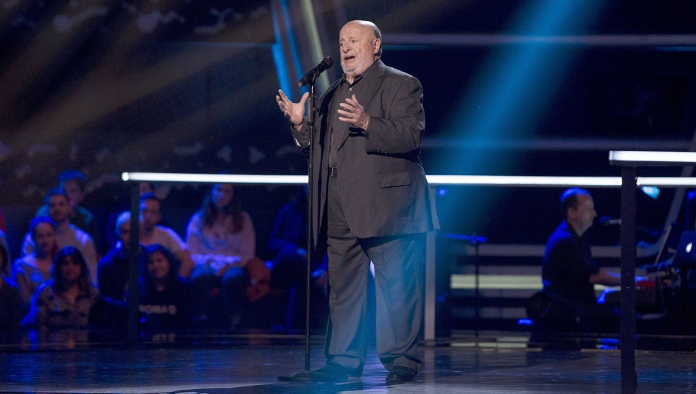 Fernando Cejalvo canta 'Maite' en los Asaltos de 'La Voz Senior'
