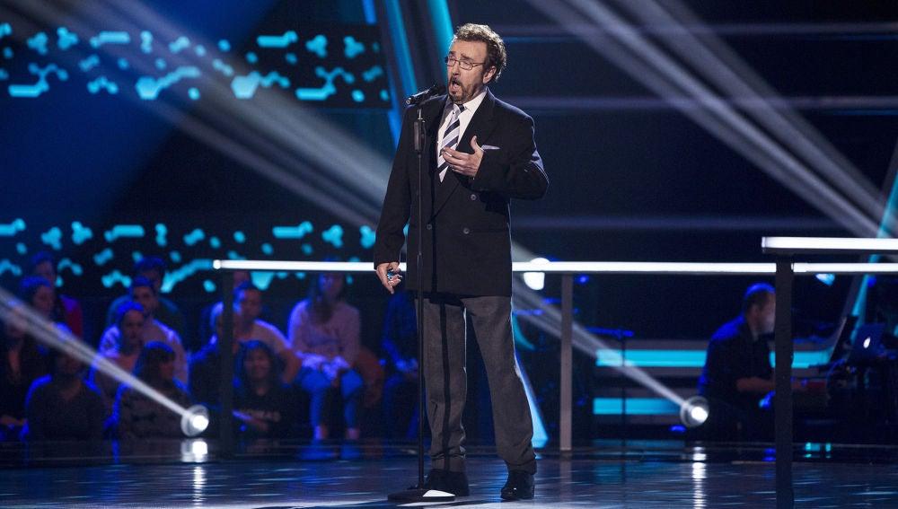 Ignacio Encinas canta 'E lucevan le stelle' en los Asaltos de 'La Voz Senior'
