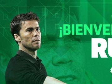 Rubi, nuevo entrenador del Betis