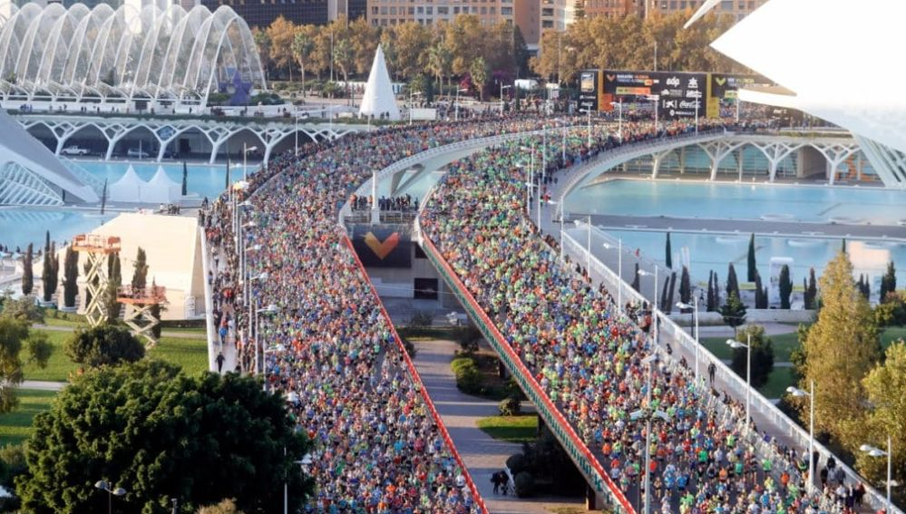 El Maratón de Valencia, prueba clásica del calendario nacional