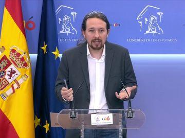 """Pablo Iglesias, sobre Echenique: """"Es sensata una rotación"""""""