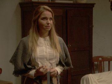 Antolina destapa la intención de su visita a Isaac