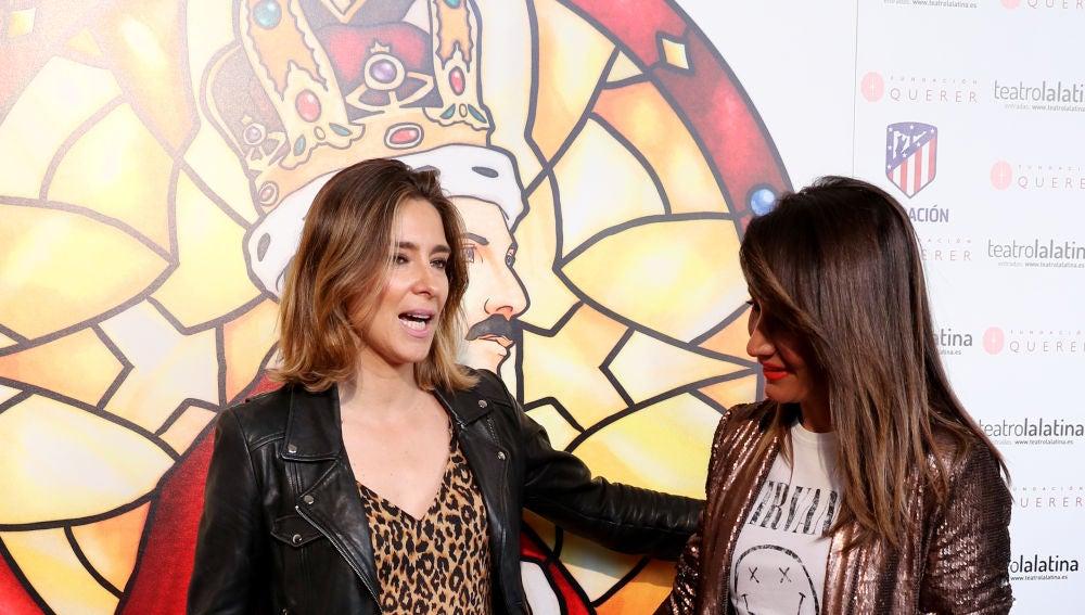 Nagore Robles y Sandra Barneda, felices y enamoradas ante la prensa