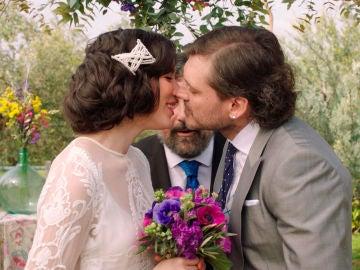 El romántico 'Sí, quiero' de Irene y Jozé