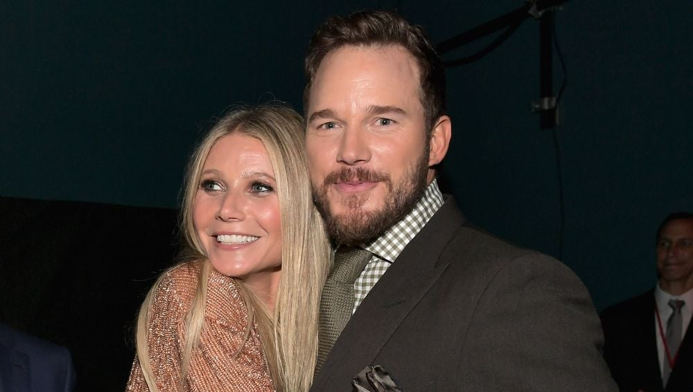 Chris Pratt y Gwyneth Paltrow en la premiere de 'Vengadores: Infinity War'