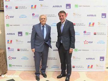 Bernard Pivot y José Creuheras