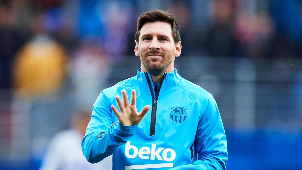 Leo Messi, El Deportista Mejor Pagado Del Mundo En El