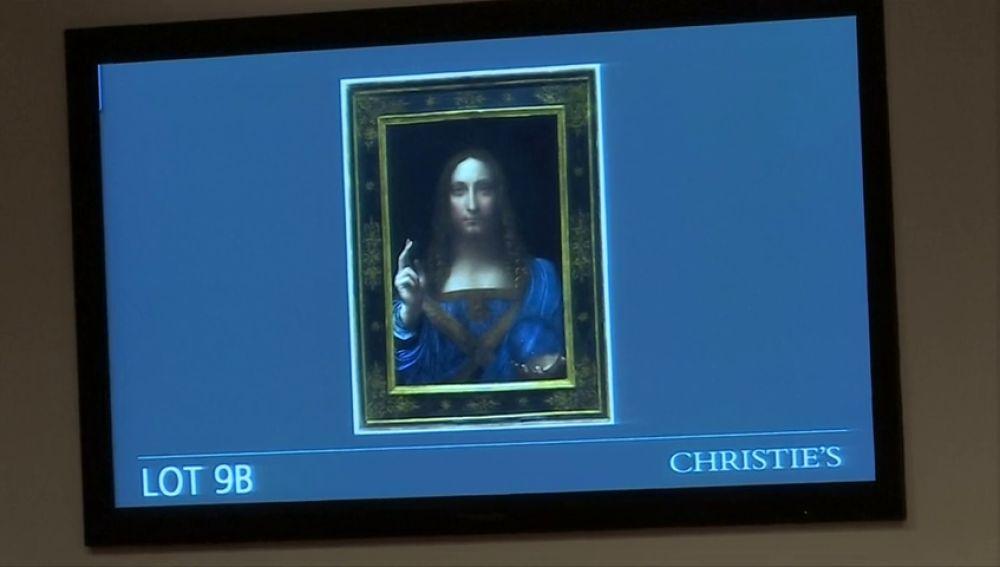 Aparece Salvator Mundi, el cuadro más caro del mundo