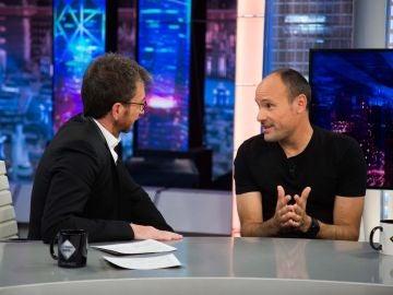 """Antonio Mateu Lahoz reivindica su profesión en 'El Hormiguero 3.0': """"El arbitro es una figura de la autoridad"""""""