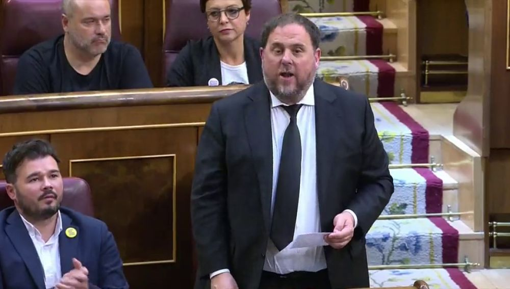 La Fiscalía pide que no se deje a Junqueras salir de prisión para jurar como eurodiputado