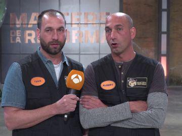 """Ivan y Albert, felices con su regreso a 'Masters de la reforma': """"El jurado ve posibilidades en nosotros"""""""