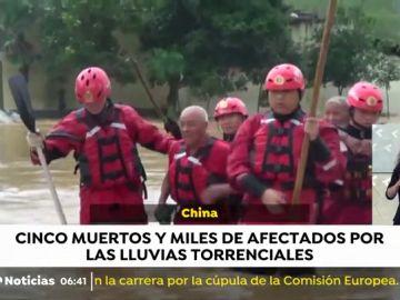 Inundaciones China