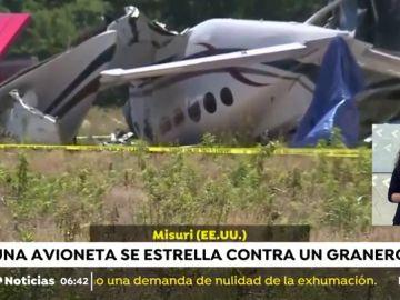 Accidente avioneta.