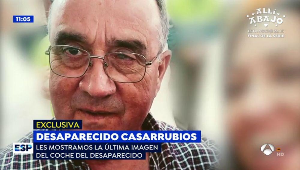 Desaparecido en Casarrubios.