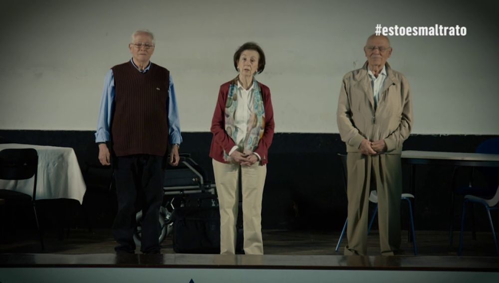 Así es la campaña contra el maltrato a personas mayores