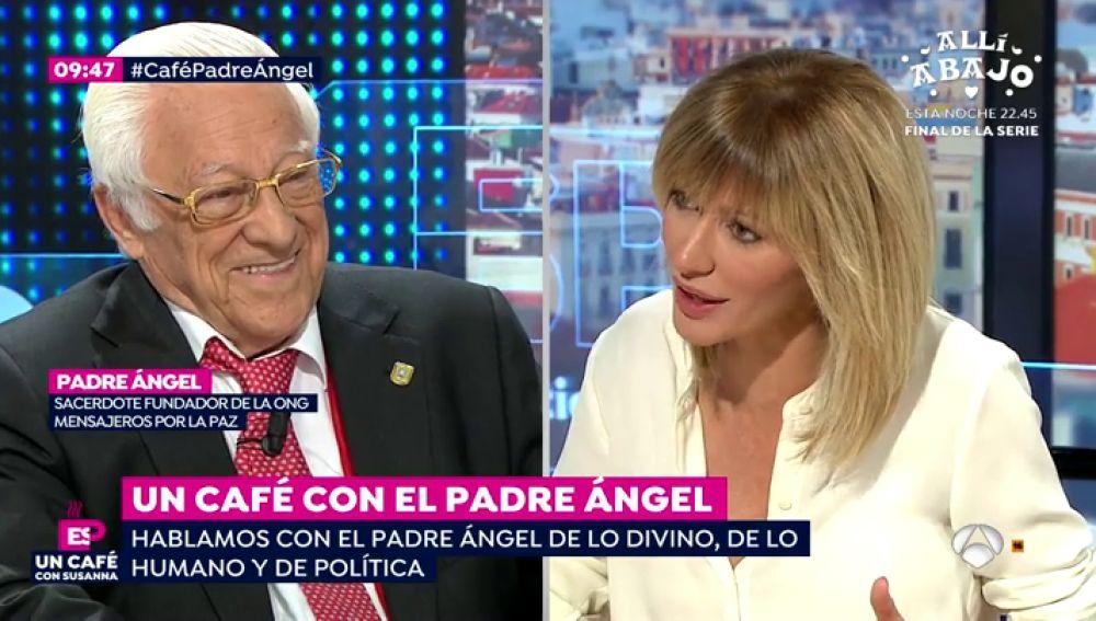 Entrevista al Padre Ángel