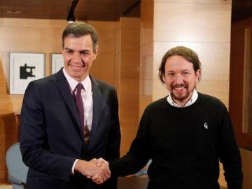 """laSexta Noticias 14:00 (11-06-19) Pablo Iglesias y Pedro Sánchez acuerdan negociar un """"Gobierno de cooperación"""""""