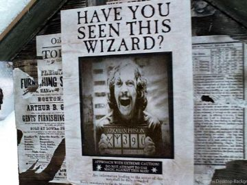 Sirius Black en 'Harry Potter y El Prisionero de Azkaban'