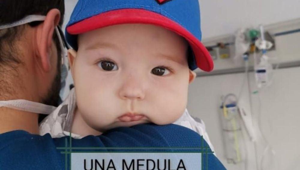 Nico, el bebé de seis meses que busca un donante de médula