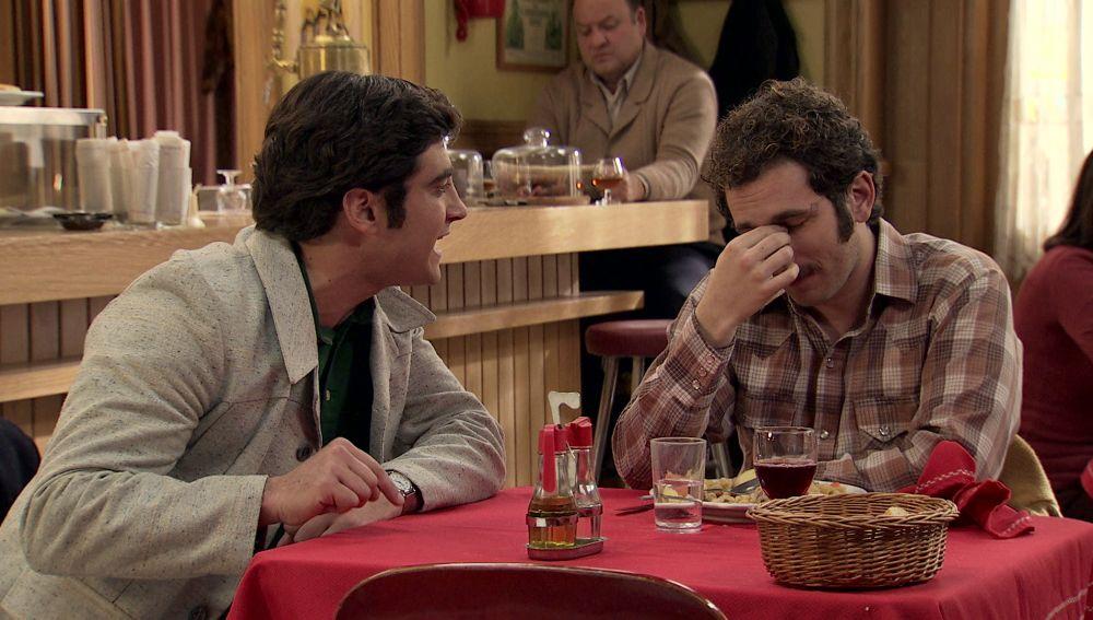 Miguel y Álvaro, enfrentados por el embarazo de Nieves