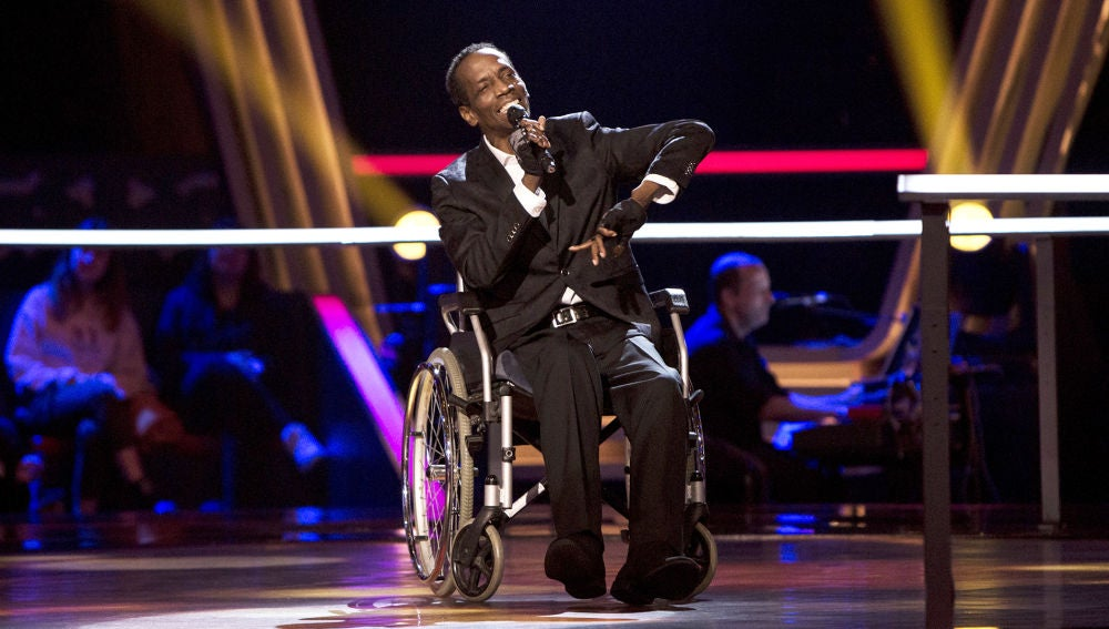 Charles Rolle canta 'Sexual healing' en los Asaltos de 'La Voz Senior'