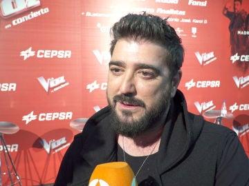 """Antonio Orozco: """"'La Voz Senior' es un resumen de la vida llevada a un escenario"""""""