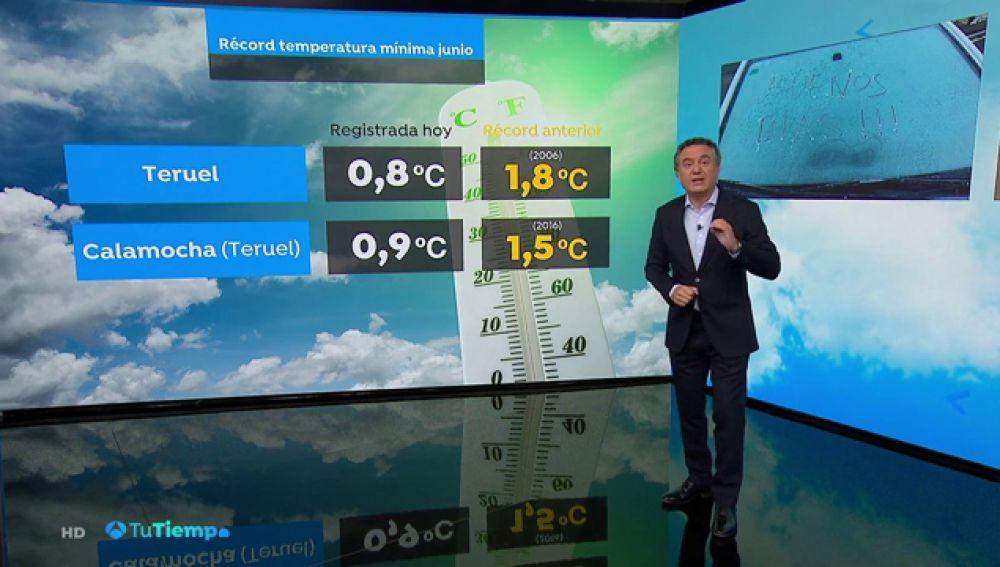 Suben las temperaturas, de forma notable en las mínimas