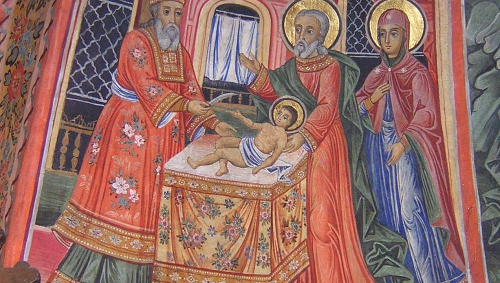 La circuncisión de Cristo, Monasterio Preobrazhenski, Bulgaria