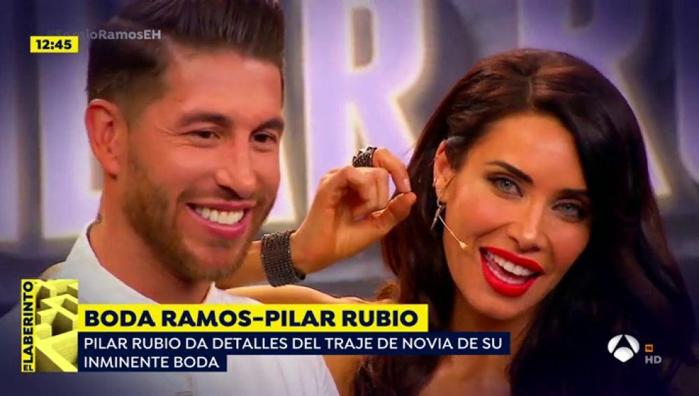 La boda de Pilar Rubio y Sergio Ramos.