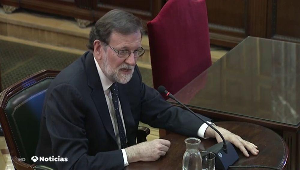 Las frases de Rajoy en el juicio
