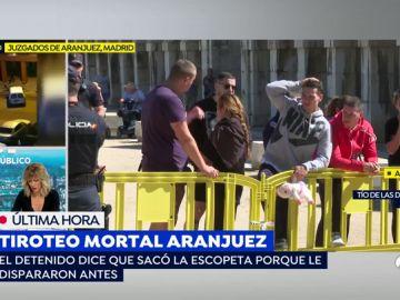 Tiroteo en Aranjuez.