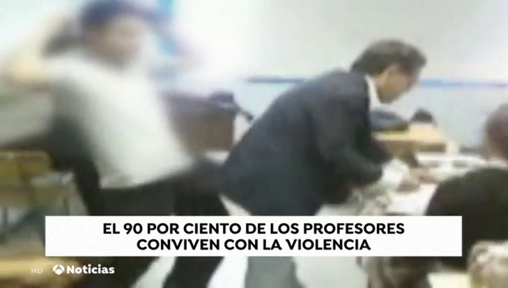 VIOLENCIA PROFESORES TODO