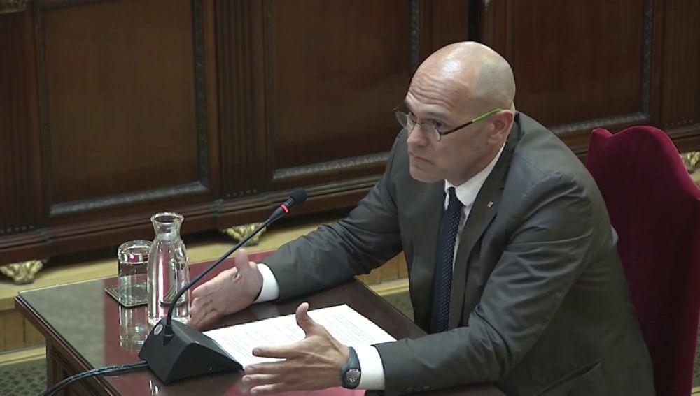 """Romeva pide """"valentía"""" al Supremo en la sentencia del juicio al 'procés'"""