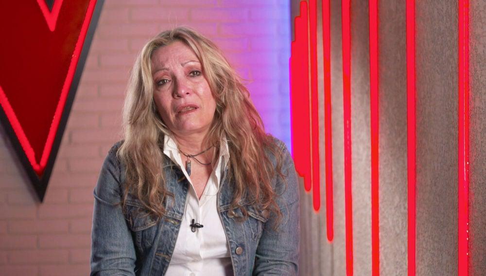 Las lágrimas de Adriana Ceballos recordando a su familia