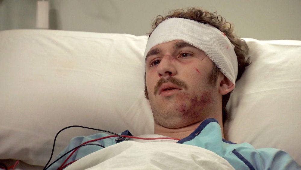 Miguel, víctima de una brutal paliza