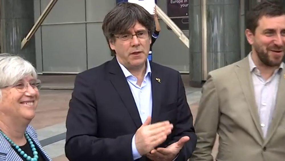 Puigdemont tendrá que venir al Congreso si quiere la credencial de eurodiputado